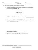 Populations Application Problem Quiz