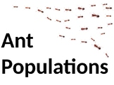 Populations - Communities - Ecosystems Lesson on PowerPoint