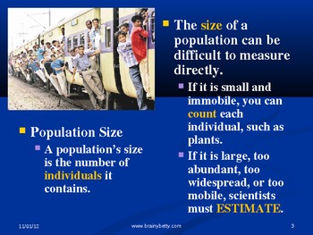 Populations (Ecology)