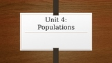 Populations PowerPoint
