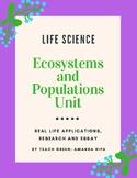 Populations Unit Bundle