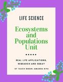 Populations Unit Bundle
