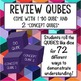 Populations and Communities Review Qubes