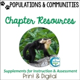 Populations and Communities Supplements for Instruction and Assessment