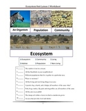Populations and Ecosystems