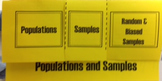 Populations and Samples Flipbook
