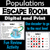 Populations in Communities: Environmental Science Escape Room Activity - Ecology