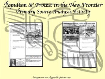 Populism & Protest New Frontier Primary Source Analysis CC