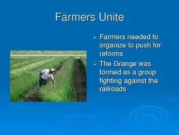 Populist Movement & Farmers
