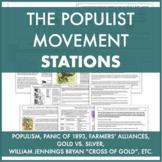 Populist Movement Stations: Bryan/Cross of Gold,Omaha Plat
