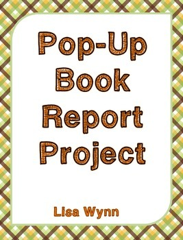 Popup Book Report Project