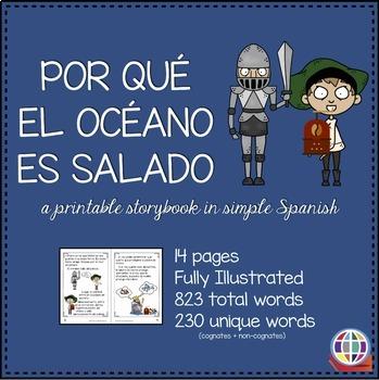 Por qué el océano es salado Spanish storybook