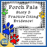 Porch Pals Story 3 Reading Passage and Constructed Respons