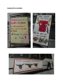 Por/contra la corrida de toros-For/against the Bullfight (IB/AP/Honors Spanish)