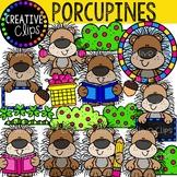 Porcupine Clipart {Creative Clips Clipart}