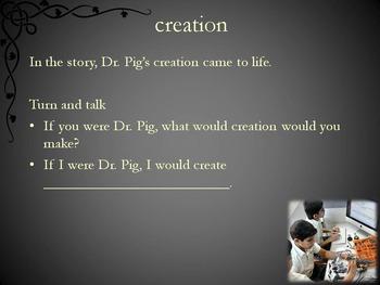Porkenstein by Lasky Text Talk PowerPoint Collaborative Conversations