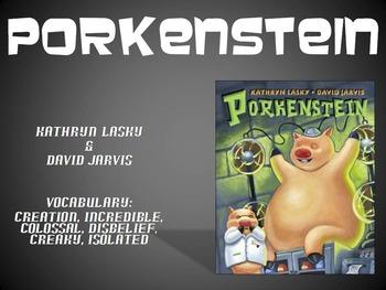 Porkenstein by Lasky Text Talk PowerPoint Collaborative Co
