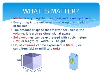 Properties of Matter PPT