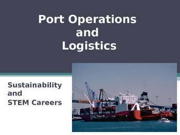 Port Operations, Logistics and Careers