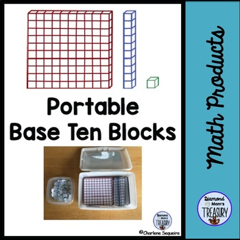 Portable Base Ten Blocks