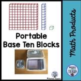 Portable Base Ten Blocks