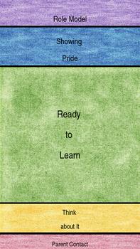 Portable Behavior Chart