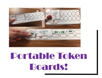 Portable Behavior Token Boards