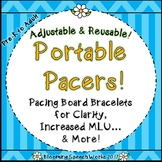 Pacing Bracelets for Intelligibility & Increased MLU: Portable Pacers!
