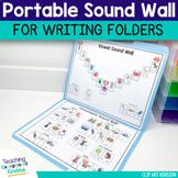 Portable Sound Wall For Writing Folders | File Folder Sound Wall