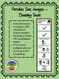 Portable Task Analysis- Brushing Teeth