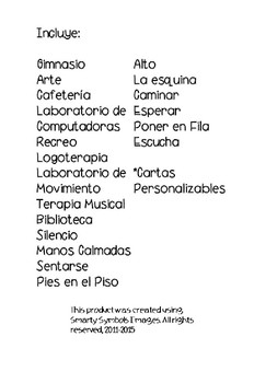 Portable Visuals- Spanish