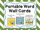 Portable Word Wall Cards