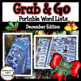 December Word Wall: Holidays Around the World Thematic Win