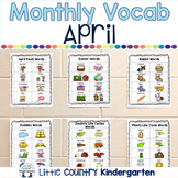 Monthly Vocabulary Word Wall: April