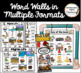 Portable Word Wall: November & Fall Thematic Word Lists