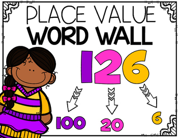 Portable Word Wall: Place Value