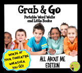 All About Me Word Wall: Portable Word Walls & Little Books