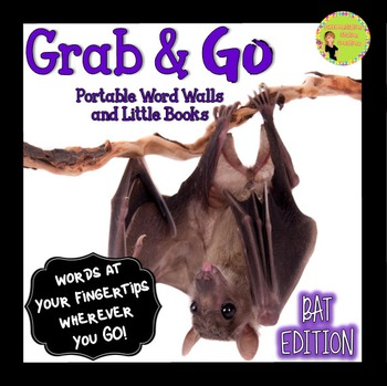 Bats: Portable Word Wall and Little Books