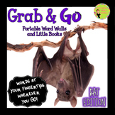Bats Word Walls: Portable Word Wall & Little Books, Thematic Words