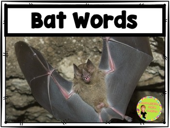 Bats Word Walls: Portable Word Wall & Little Books, Fall Word Walls