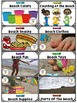 Portable Word Wall and Little Books: Beach Word Walls