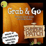 Pumpkin Word Walls: Portable Word Wall & Little Books, Fal