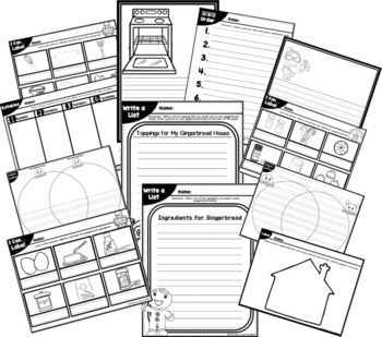 Word Wall: Monthly Word Walls Whole Year, Writing Paper, Thematic Printables