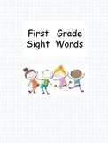 Portable sight words folder