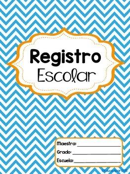 Portada Registro Escolar