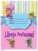 Portadas Carpeta profesional - Motivo Huggle Monster