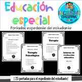 Portadas Expediente Educación Especial