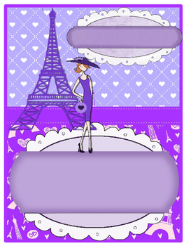Portadas para carpetas profesionales editable PARIS de 8 disenos