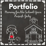 Portfolio-Memory for the School Year