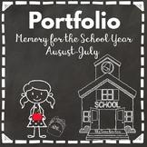 Pre-K-Kindergarten-Sp. Ed.-1st-2nd-3rd Gr.- Portfolio-Memo